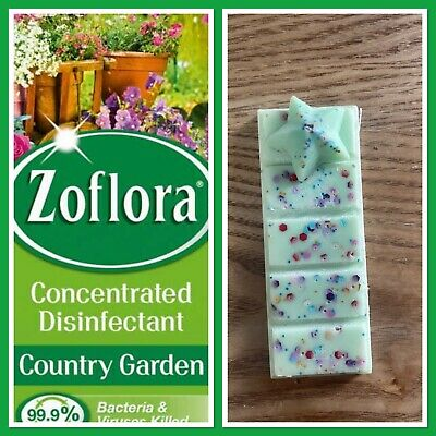 £1.50 • Buy Soy Wax Melt Zoflora Country Garden Scented Snapbar