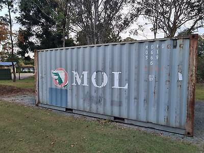 AU4200 • Buy Shipping Container 20 Foot GP