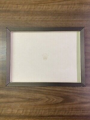 £1085.77 • Buy Authentic Rolex Authorized Dealer Display Tray With Removable Plate