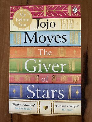 AU15 • Buy The Giver Of Stars By Jojo Moyes (paperback)