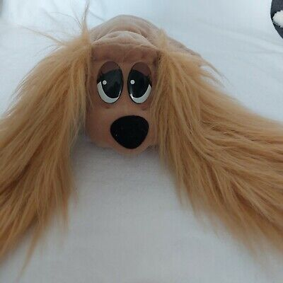 """£14.99 • Buy Vintage Pound Puppies 12"""" Fur Long Ears Pound Puppy Furry Ear Soft Toy"""