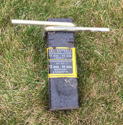 £4 • Buy Fence Post Drive In Tool
