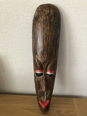 """£12.99 • Buy Lovley 20"""" Tall African Mask (collectable)"""
