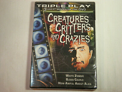 £5.42 • Buy TRIPLE PLAY Creatures, Critters, And Crazies (DVD, 2005) White Zombie, Blood...