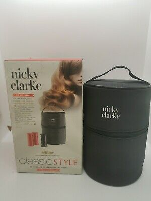 £10 • Buy Nicky Clarke NHS005 Classic Style Compact Heated Rollers Electric Curlers Travel