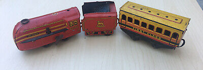 £9 • Buy VINTAGE WELLS BRIM TOY MODEL THE PRINCE 6220 PASSENGER TRAIN For Parts/restore