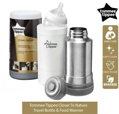 £14.79 • Buy Tommee Tippee Closer To Nature Baby Bottle Food Warmer Flask Compact Travel New