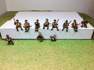 £11.99 • Buy 1/72 WW2 British Tank Riders X 11. HaT. New. Well Painted And Based