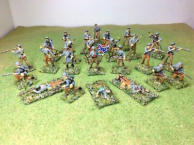 £19.99 • Buy 1/72 ACW Confederate Infantry X25.  New. Esci. Well Painted And Based