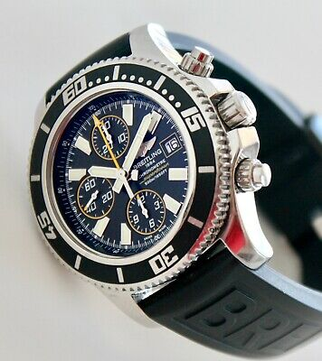 £2400.52 • Buy BREITLING Men's Watch, A13341 Superocean Chronograph, Automatic, Box And Manual