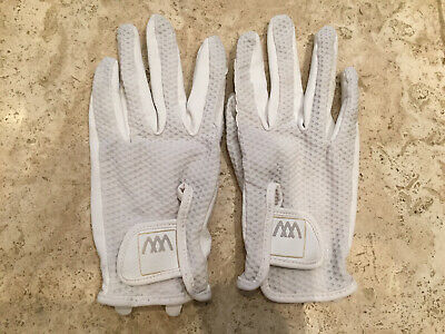 £12.99 • Buy Woof Wear White Event Riding Gloves Size 7