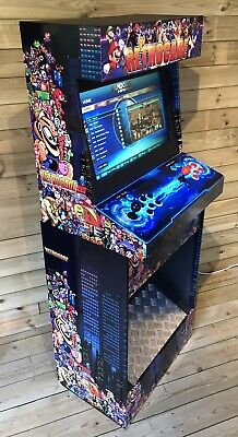 £529 • Buy Arcade Machine Cabinet 2 Player Street Fighter Pacman Space Invaders 4260 Games