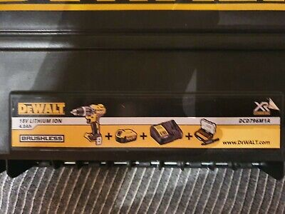 £130 • Buy DeWALT DCD796M1A XR Brushless Combi Drill 1 X 4.0Ah Lithium-Ion Battery With...