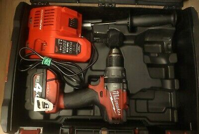 £129.99 • Buy Milwaukee M18ONEPD   Brushless ONE-KEY Combi Drill +4,0Ah Battery Charger Case