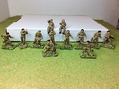 £12.99 • Buy 1/72 WW2 British Tank Crew X12. Orion. New. Well Painted And Based