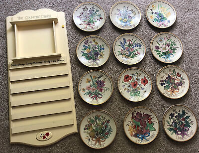 £30 • Buy The Country Diary Of An Edwardian Lady Calendar Plates With Wall Hanger