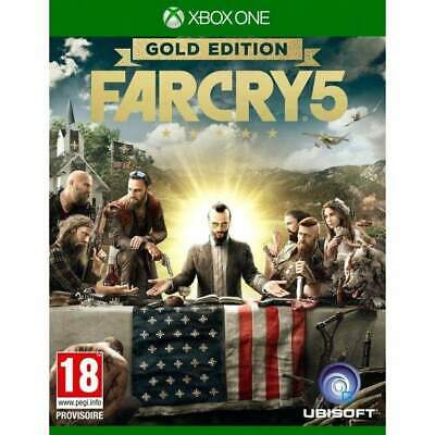 AU54.49 • Buy Farcry 5 Gold Edition Xbox One Uk New