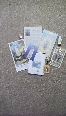 £3 • Buy Catholic Lot . Nice Group Of Marian / Rosary Items All Good Condition.