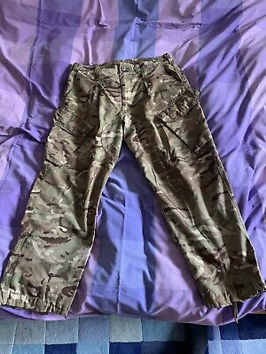 £10.50 • Buy British Army MTP Camouflage Combat Trousers Genuine Military Issue
