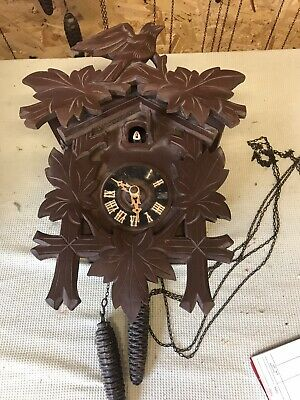 £45.88 • Buy Cuckoo Clock Black Forest ? Spares Or Repairs Lot9