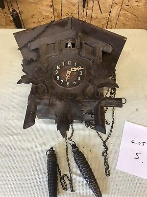 £45.88 • Buy Cuckoo Clock Black Forest ? Spares Or Repairs Lot5