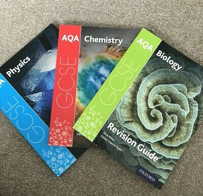 £6.80 • Buy AQA GCSE Physics Chemistry Biology (9-1) Triple Science AQA Revision Guides