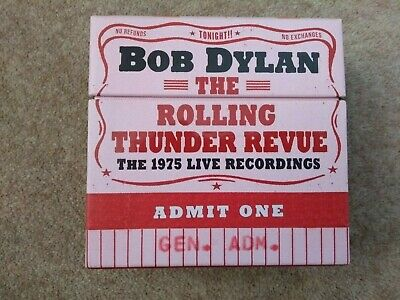 £42.50 • Buy The Rolling Thunder Revue: The 1975 Live Recordings By Bob Dylan (CD, 2019)