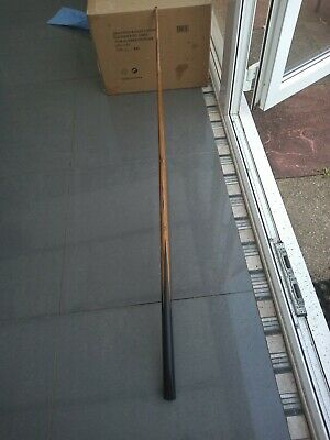 £15 • Buy Very Old One Piece Snooker Cue With B&W Tin Case