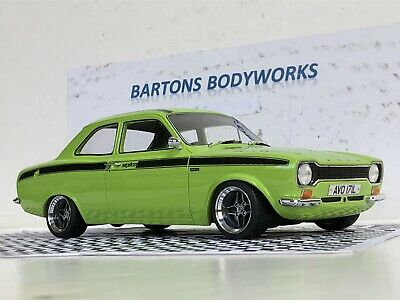 £495 • Buy 1:18 Mk1 FORD ESCORT MeXico CULT MODELS MODIFIED  RS2000 Mk2