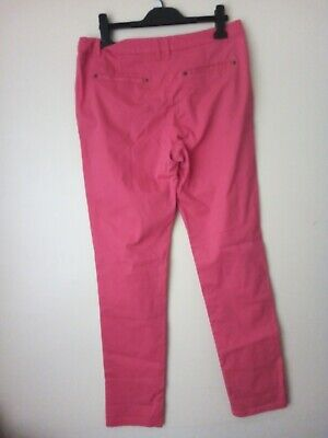 £4.90 • Buy  Ladies   Cropped Trousers Capri Pants Size 12  In Pink Use Very Good Condition
