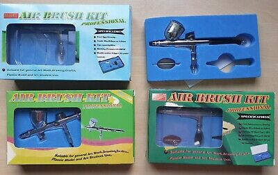 £0.99 • Buy 4x Dual Action Gravity Feed Airbrush Airbrushes For Spares And Repair