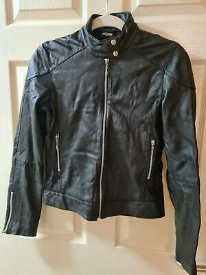£5 • Buy Pilot Real Leather Womens Jacket Size10