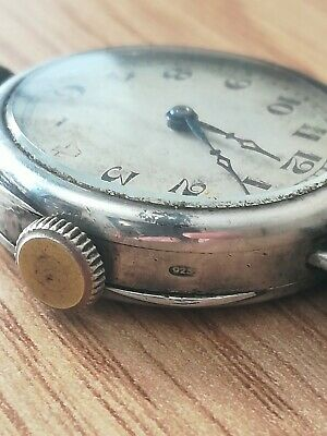 £30 • Buy Silver Trench Watch Officers Ww1 925 Marked