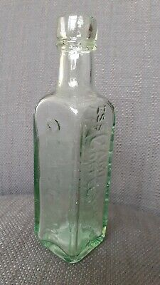 £4 • Buy Victorian Glass Bottle Patterson's Of Glasgow Camp Coffee Antique Collectable