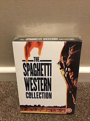 £6.50 • Buy The Spaghetti Western Collection Dvd Box Set - New/Sealed - Clint Eastwood