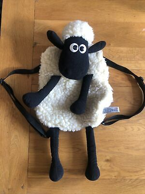 £2 • Buy Wallace & Gromit Shaun The Sheep Backpack Bag - Very Good Condition