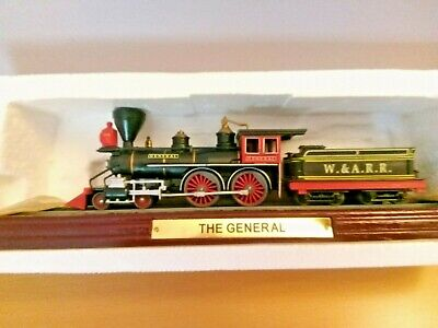 £5.99 • Buy Atlas Editions Model Static Train  THE GENERAL ---MINT COND---