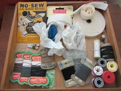 £15.99 • Buy Vintage Sewing 1950 And Later: Barbour W&J Knox Thread Bias Binding French Chalk