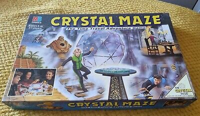 £29.99 • Buy Vintage Crystal Maze Game And MB Games 1993 100% Complete Board Game
