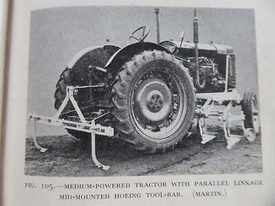 £22 • Buy 1949 Farming Machinery Book Fergies Fordson Rotavators Tracked Tractor Equipment