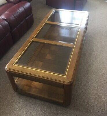 £45 • Buy Table -Large Coffee Table With Toughened Glass