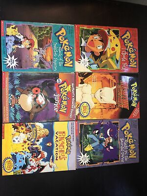 $30 • Buy Pokemon Book Lot   Scholastic   Mewtwo,I Choose You, Night, And More!