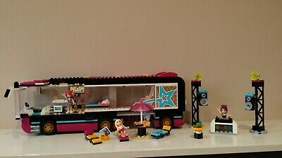 £14.97 • Buy LEGO Friends 41106 Pop Star Tour Bus 100% Complete With Instructions - NO BOX