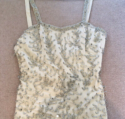 £25 • Buy Topshop Limited Edition Embellished Beaded Playsuit As Seen On