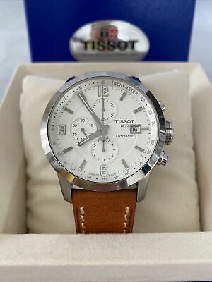 £61.21 • Buy Mens Tissot Watch PRC200 Automatic T-Sport Silver T055.417.16.037.00 Boxed