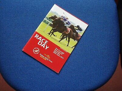 £9.99 • Buy Irish Derby 2012 Won By Camelot Horse Racing Racecard