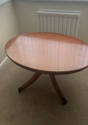 £10 • Buy Vintage Antique Style Yew Coffee Table