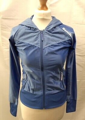 £15 • Buy Bench Blue Zip-Up Sweater Sweatshirt Hoody Top Size XS New With Tags