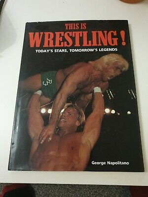 £7.99 • Buy THIS IS WRESTLING! By George Napolitano Hardback Book WWF WCW WWE Collectable