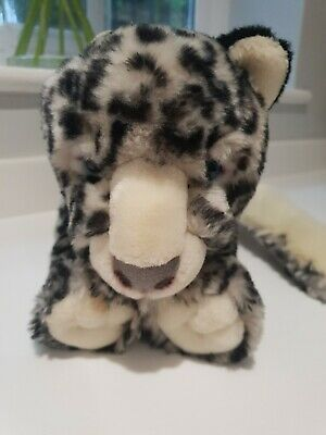 £12.50 • Buy Keel Toys Simply Soft Collection Soft Toy Plush Snow Leopard 30cm Vgc